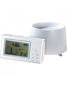 Pluviomètre thermostat electronique sans fil