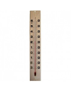 Thermometre bois 6,5x3,5 1600