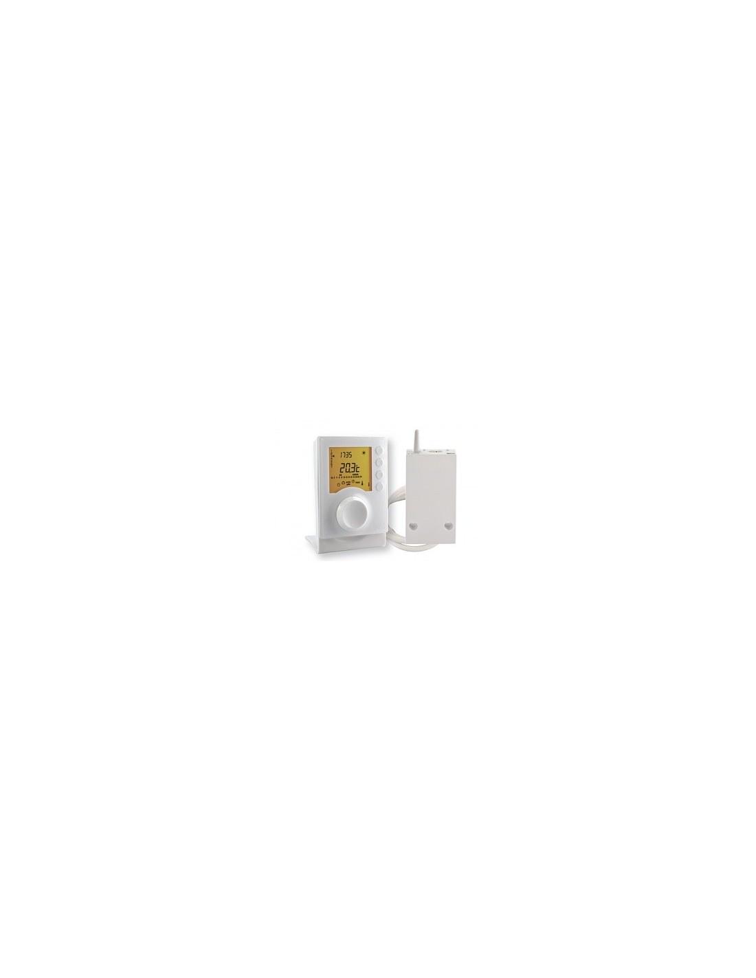 thermostat programmable tybox137 radio delta dor. Black Bedroom Furniture Sets. Home Design Ideas