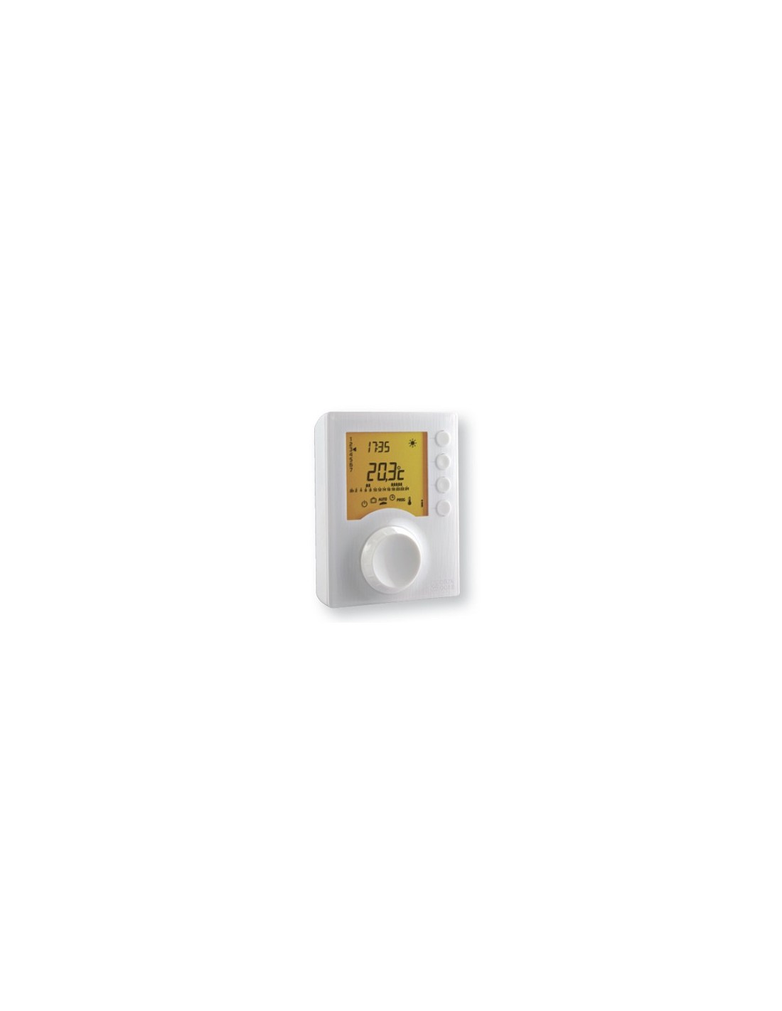 Thermostat programmable tybox137 radio delta dor - Thermostat programmable sans fil ...