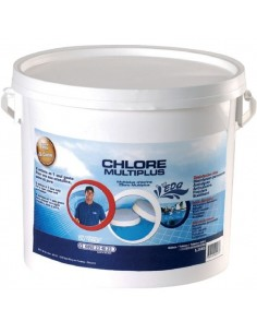 Désinfectant piscine multi plus boîte 5,25 kg