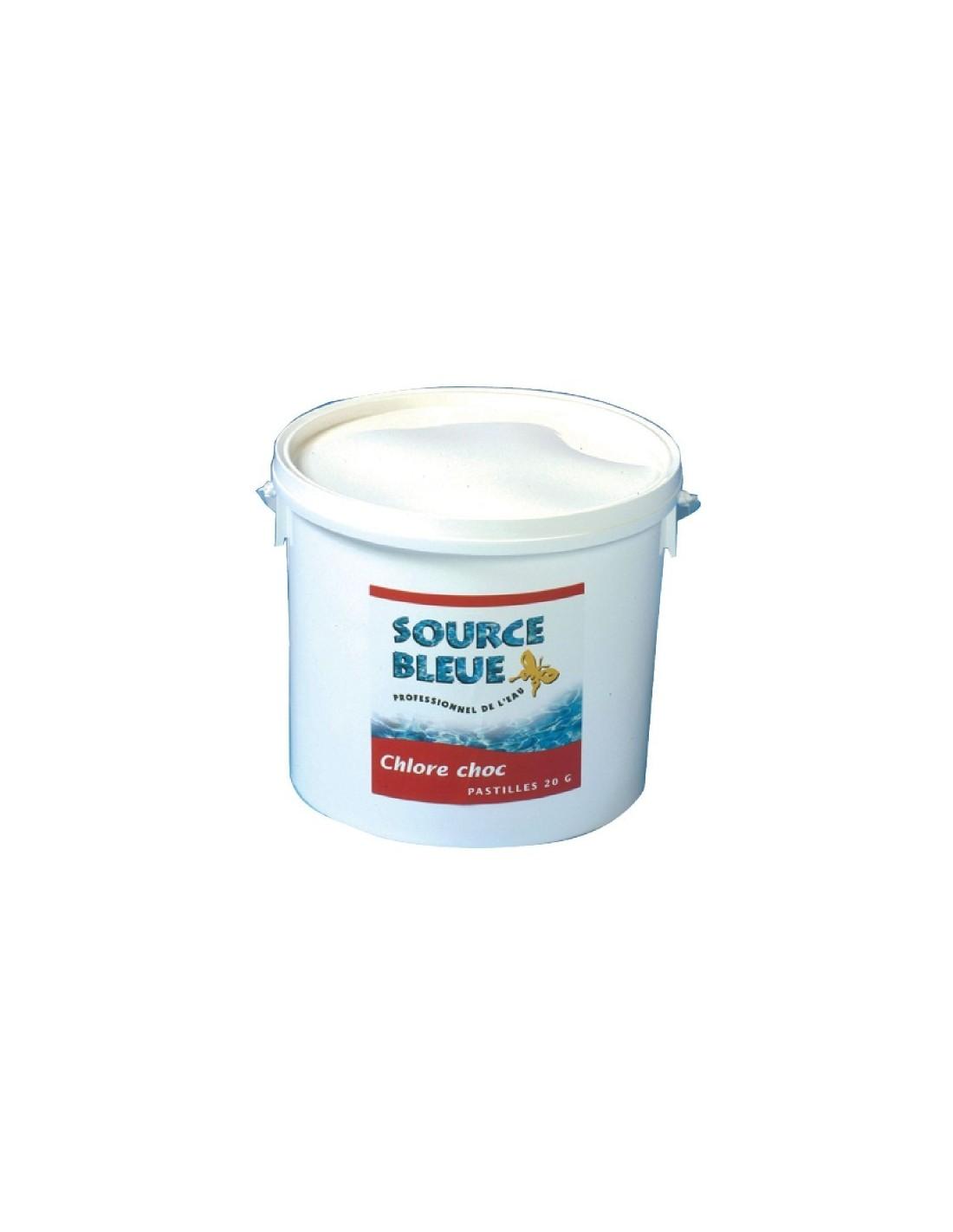 chlore choc piscine source bleue seau 5 kg chlore choc source bleue seau 5 kg. Black Bedroom Furniture Sets. Home Design Ideas