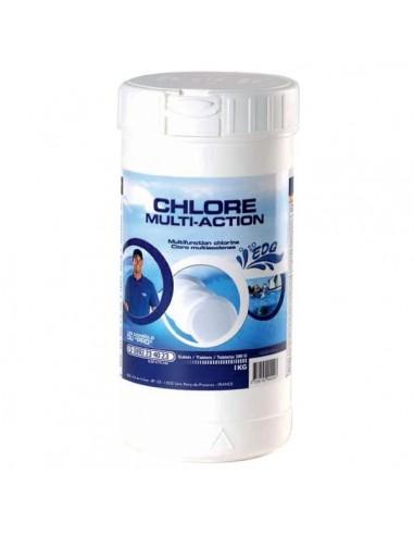 Chlore piscine multiactions pot 1 kg