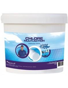 Chlore piscine multiactions seau 5 kg