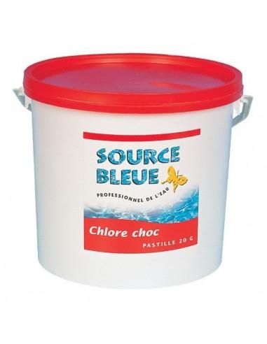 Chlore choc boîte 1 kg