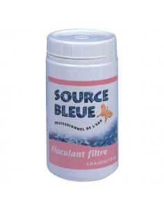 Floculant piscine source bleue filtre chaussette x8