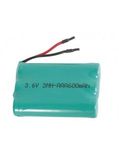 Pack de piles industrielles nimh 3.6v-600mah avec connexions a souder