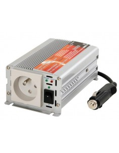 Convertisseur a sinusoide modifiee 150w entree 12vcc / sortie 230vca - terre francaise -  'soft-start'