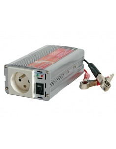 Convertisseur a sinusoide modifiee 300w entree 12vcc / sortie 230vca - terre francaise - 'soft-start'