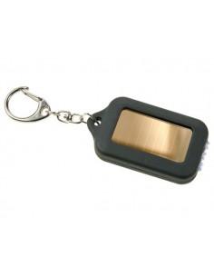 Porte-clés solaire à led blanches