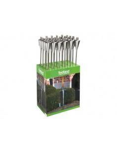 Torche de jardin à huile - 115 cm - ø 8.8 cm - 24 pcs en présentoir