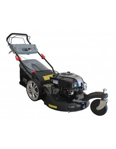 Tondeuse 4t 190cc 3 roues 56 cm fonction mulching - Tondeuse 3 roues ...