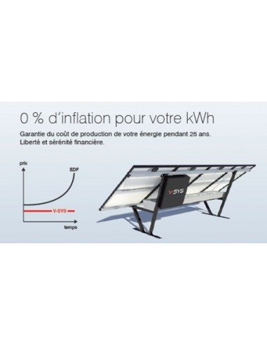 kit solaire 1000 watts systovi auto consommation au sol. Black Bedroom Furniture Sets. Home Design Ideas