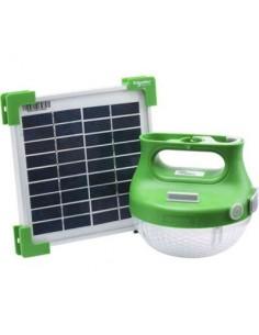 Kit solaire éclairage schneider