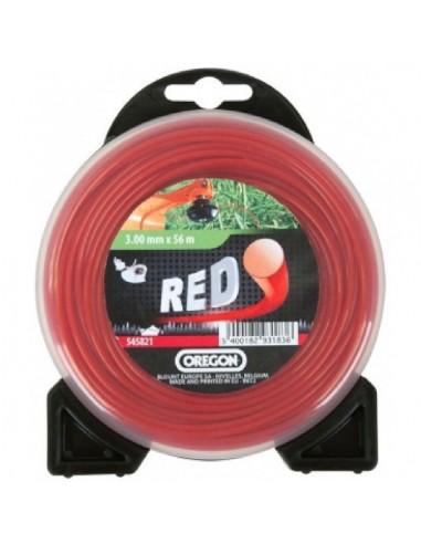 Fil rond rouge 1.6mmx15m