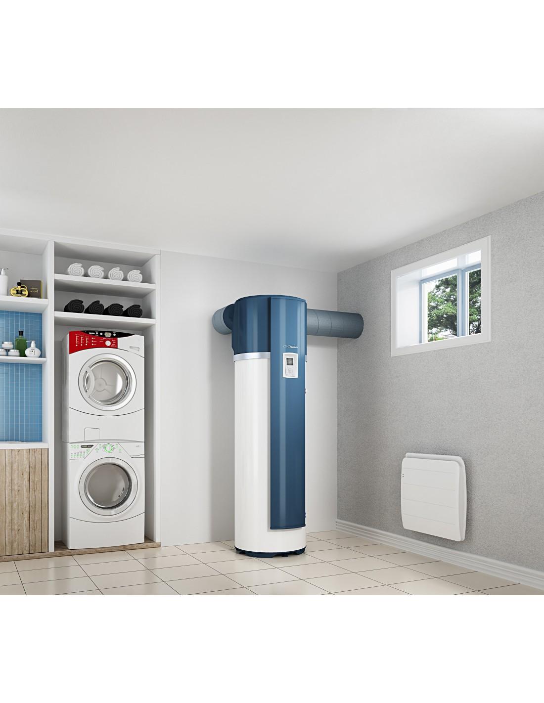 Chauffe eau thermodynamique 270l a romax 4 thermor for Comparatif chauffe eau thermodynamique