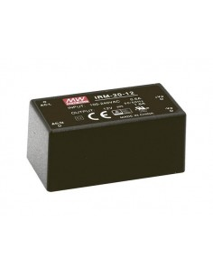Mean well - alimentation - 1 sortie - 20 w - encapsulé - 5 v