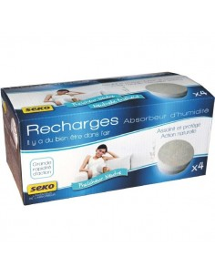 Absorbeur dome médium-lot de 4 recharges neutre