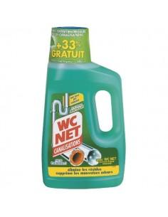 Entretien canalisations wc net menthol-flacon 750 ml