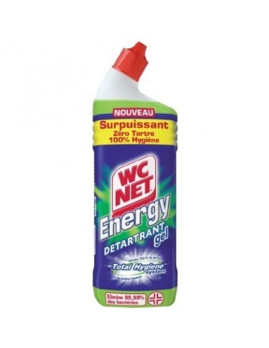 Détartrant gel wc energy vg flacon 750 ml
