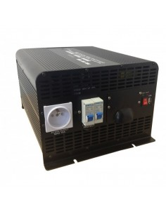 convertisseur lectrique solaire kit panneau. Black Bedroom Furniture Sets. Home Design Ideas