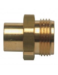 Raccord pour gaz butane/propane A souder Ø 10