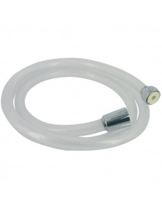 Flexible tressé blanc transparent l. (m) 1,5