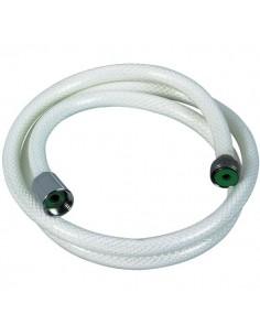 Flexible nylon arme blanc l. (m) 1,5