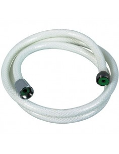 Flexible nylon arme blanc l. (m) 1,5