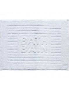 Tapis de bain bath bain couleur blanc