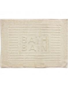 Tapis de bain bath bain couleur beige