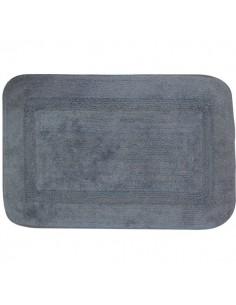 Tapis sortie de bain uni couleur gris