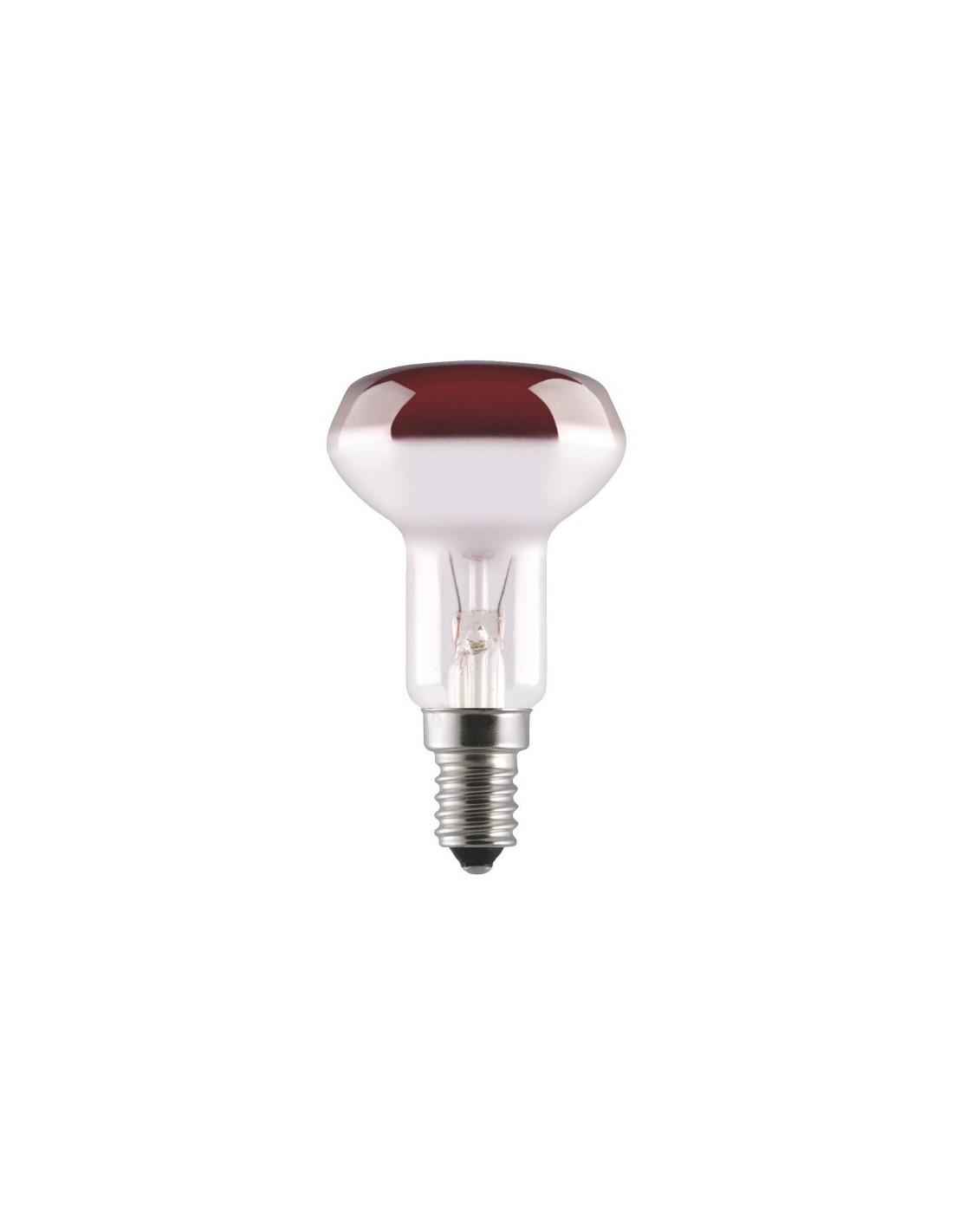 R flecteur e14 puis w 40 couleur rouge pce 2 lumen 1000 - Reflecteur solaire maison ...