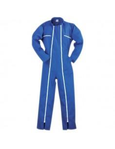 Combinaison bleue double zip l