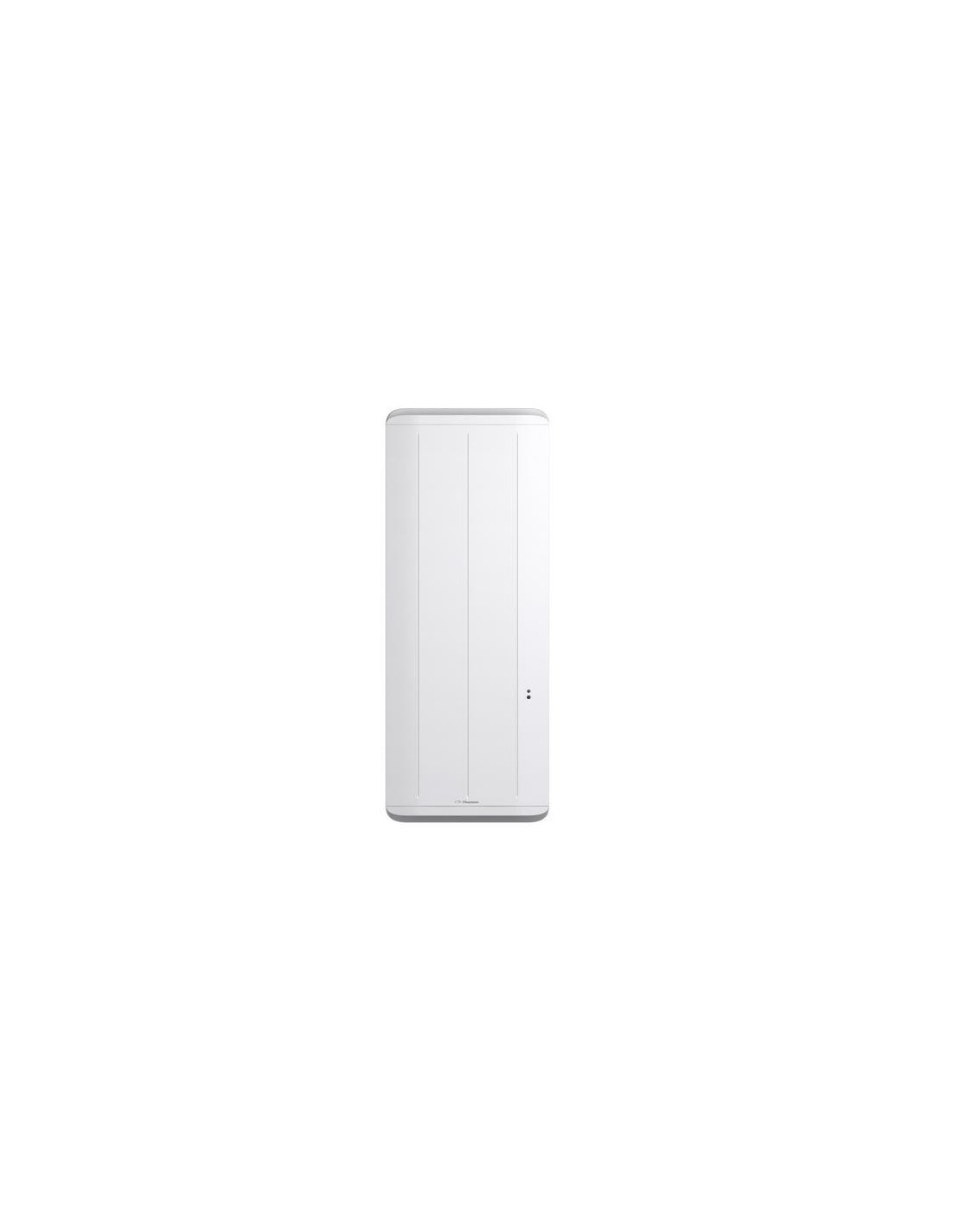 radiateur inertie equateur 2 vertical blanc 1500w. Black Bedroom Furniture Sets. Home Design Ideas