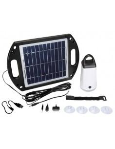 Éclairage solaire pour abri de jardin et camping