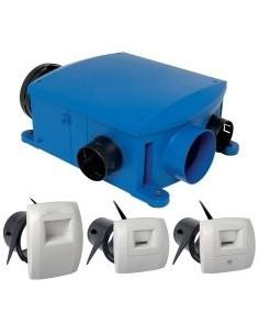 Kit VMC hygroréglable compact BAHIA T3+ hygroB ALDES