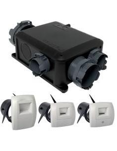 Kit VMC hygroréglable compact BAHIA microwatt T3+ hygroB ALDES