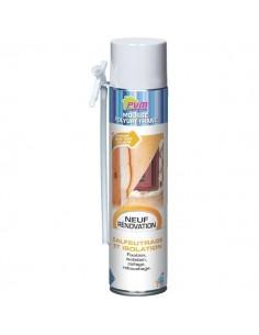 Mousse polyuréthane aérosol 750 ml + gants