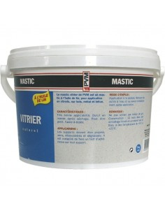 Mastic vitrier naturel 5 kg