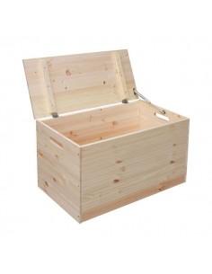 Coffre de rangement ou stockage de pellets 80 x 40 x 50 cm