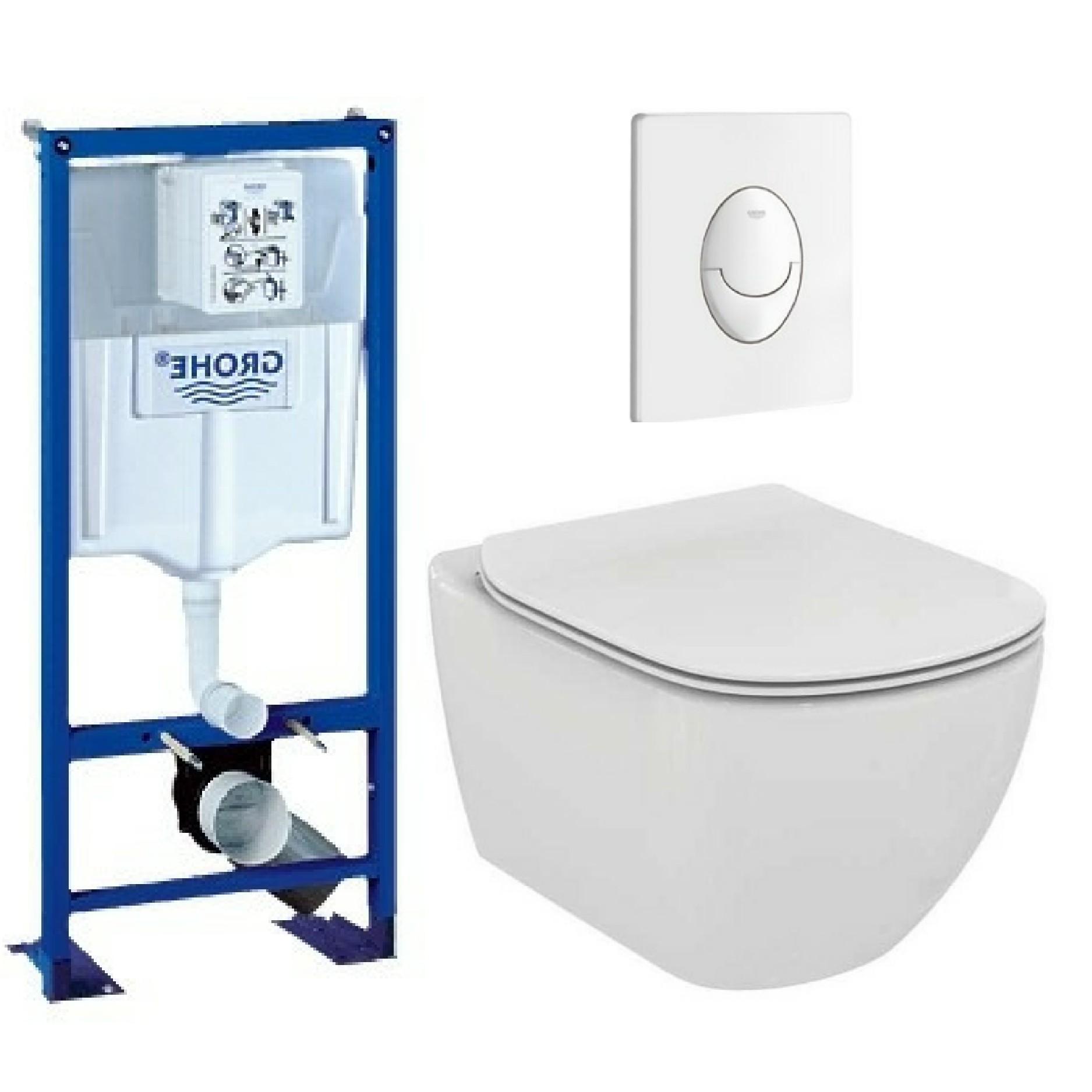 toilette suspendu sans bride cool wc cuvette suspendue. Black Bedroom Furniture Sets. Home Design Ideas