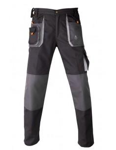 Kapriol - pantalon de travail smart noir gris