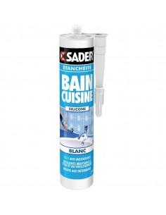 Mastic bain/cuisine blanc