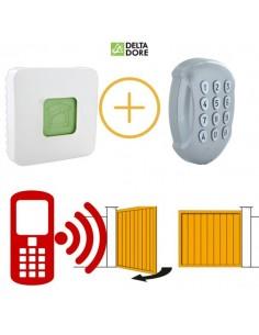 Pilotage d'automatisme de portail par smartphone delta dore