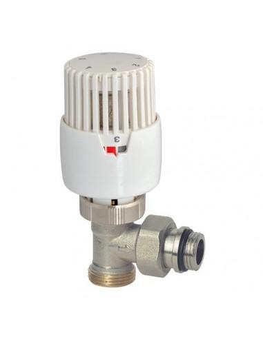 Robinet thermostatique equerre 3 4ek bulbe liquide - Robinet thermostatique connecte ...