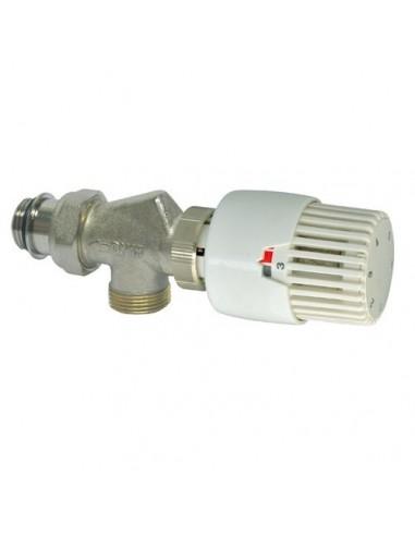 Robinet thermostatique bloqu chaud g nie sanitaire - Mitigeur thermostatique douche bloque ...