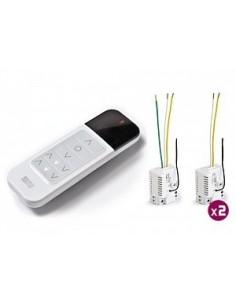 Domotique sans fil kit panneau - Interrupteur sans fil delta dore ...