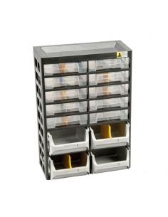 Casier 10 tiroirs à vis VARIOPLUS BASIC D21