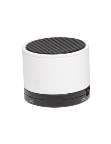 bts 21white enceinte bluetooth avec batterie rechargeable blanc. Black Bedroom Furniture Sets. Home Design Ideas